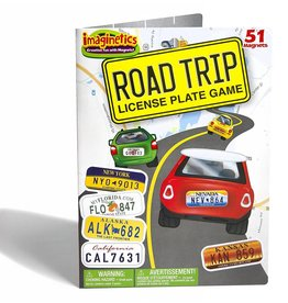 Magnetic Large Road Trip License Plate