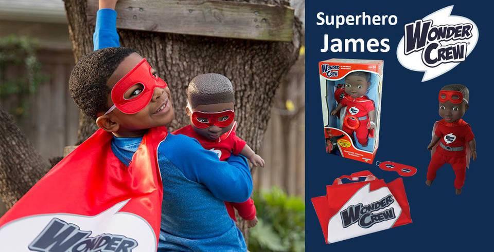 Wonder Crew Superhero James