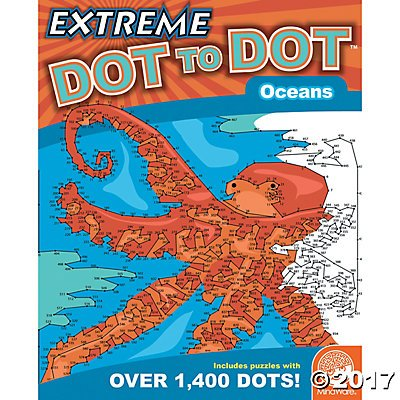 MindWare Extreme Dot to Dot Oceans
