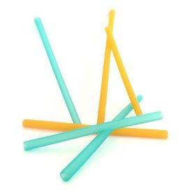 GoSili Silicone Family Straws 6 pack