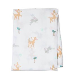 Lulujo Cotton Muslin Swaddle Little fawn