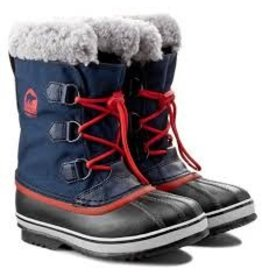 Sorel Youth Yoot Pac Nylon Collegiate Navy, Sail Red