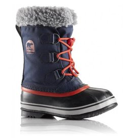 Sorel Children's Yoot Pac Nylon Collegiate Navy, Sail Red