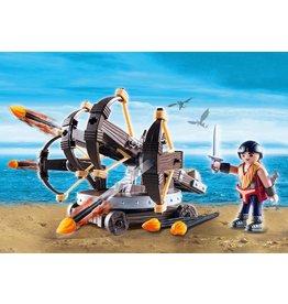 Playmobil Dragons - Eret with 4 Shot Fire Ballista