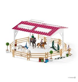 Schleich Riding School with Riders and Horses