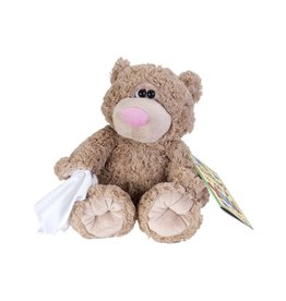 Wild Republic Teddy Bear with Cold Stuffed Animal - 10""
