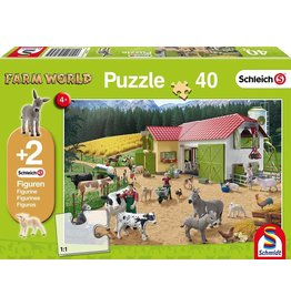 Schleich Farm Life Puzzle 40 Pieces