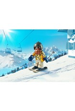 Playmobil Skier with Poles