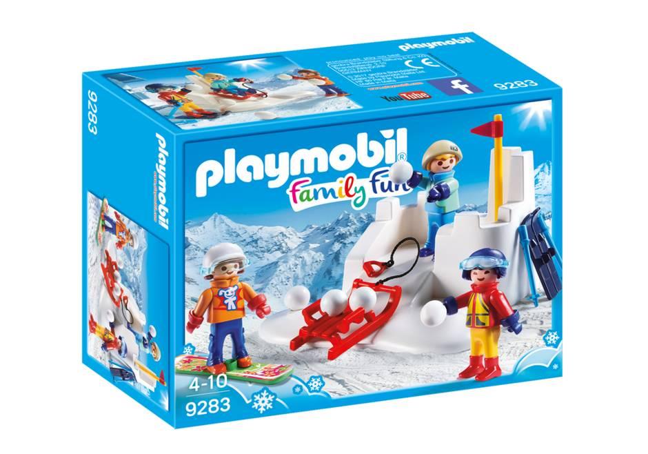 Playmobil Snowball Fight