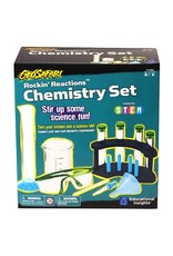 Educational Insights GeoSafari Rockin' Reactions Chemistry Set