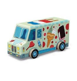 Crocodile Creek Mini Vehicle Ice Cream Truck Puzzle