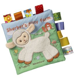Mary Meyer Taggies Sherbet Lamb Soft Book