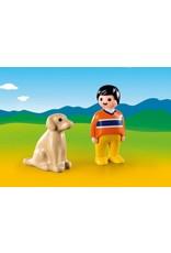 Playmobil Man with Dog