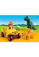 Playmobil Explorer with Dinos