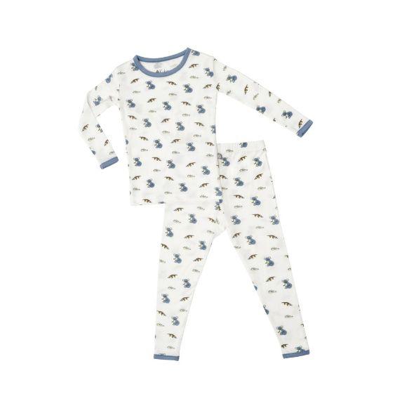 6c96adf4dbc4 Kyte Baby Printed Toddler Pajama Set in Aussie - Grow Children's ...