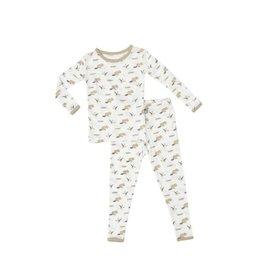 Kyte Baby Printed Toddler Pajama Set in Lakeshore