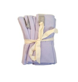 Kyte Baby Washcloth 5-Pack in Lilac