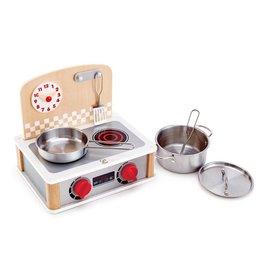 Hape 2-in-1 Kitchen & Grill Set