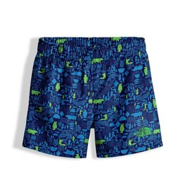 The North Face Toddler Hike/Water Short Cosmic Blue Wild West Critters Print