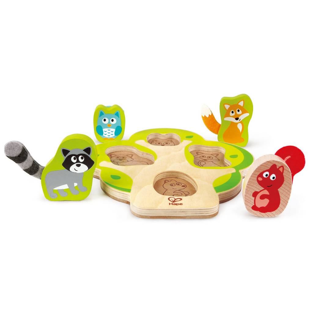 Hape Who's In The Tree Puzzle