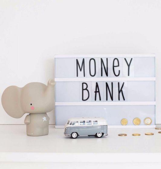 A Little Lovely Company Money Box: Elephant