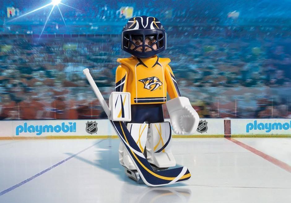 Playmobil NHL Nashville Predators Goalie