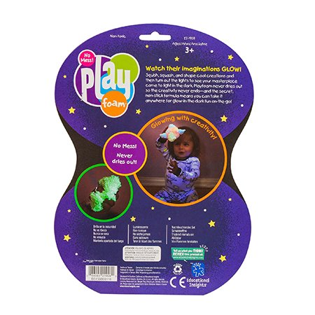 Educational Insights Playfoam Glow-in-the-Dark 4 pack