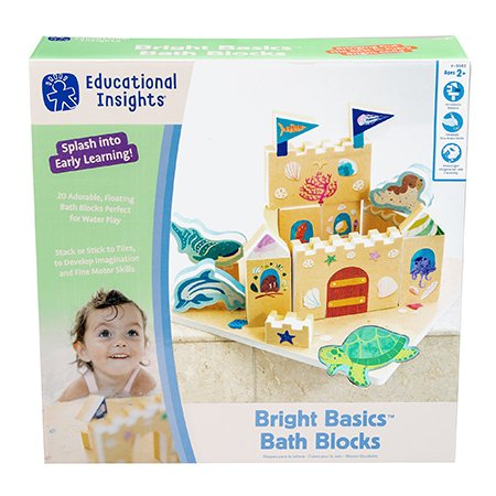 Educational Insights Bright Basics Bath Blocks