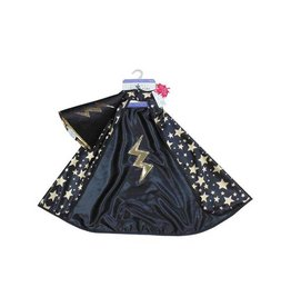 Great Pretenders Reversible Wizard Cape and Hat, Size 4-6