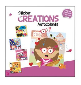Sticker Creations Funny Faces