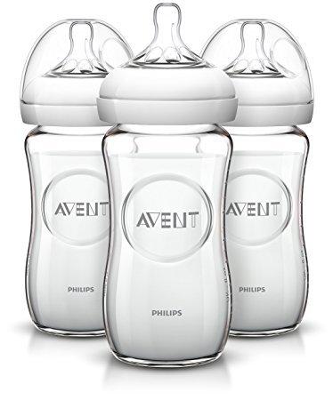 Avent Natural Glass Bottles 3 pack