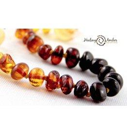 Healing Amber Rainbow ~ Circle ~ 13 inches