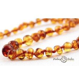 Healing Amber Caramel - Circle - 15 Inch