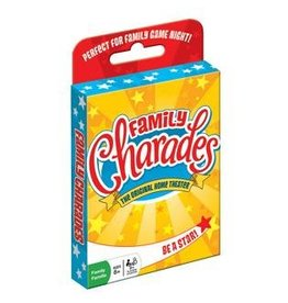Outset Media Family Charades Card Game