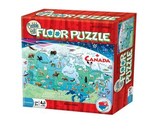 Map Of Canada Puzzle.Cobble Hill Map Of Canada