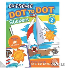 MindWare Extreme Dot to Dot Stickers Book 2