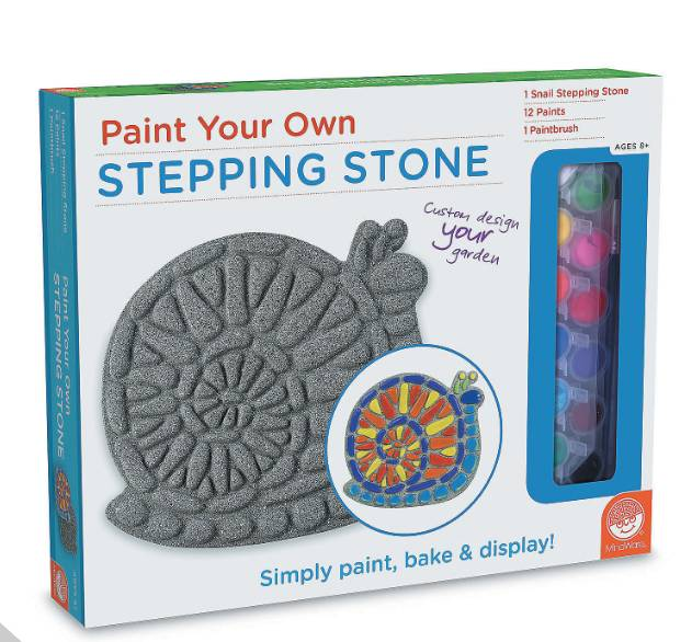 MindWare Paint your Own Stepping Stone - Snail