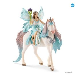 Schleich Fairy Eyela W/ Princess Unicorn