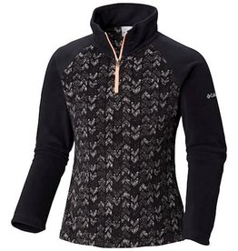 Columbia Glacial™ II Fleece Print Half Zip Black Arrows
