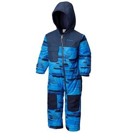 Columbia Toddler Hot-Tot™ Suit Super Blue Geo Print