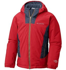 Columbia Wild Child™ Jacket Red Spark, Dark Mountain