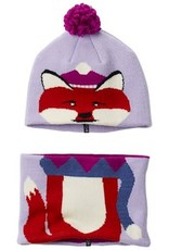 Columbia Snow More™ Beanie and Gaiter Set Toddler Soft Violet Fox O/S
