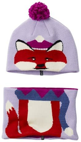 1d065577ce839 Columbia Snow More™ Beanie and Gaiter Set Toddler Soft Violet Fox O ...