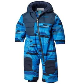 Columbia Hot-Tot™ Suit Super Blue Geo Print
