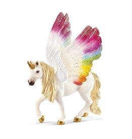 Schleich Winged rainbow unicorn, foal