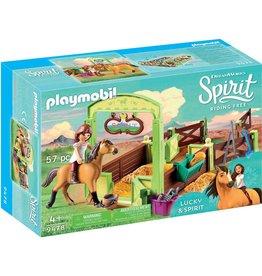 Playmobil Horse Box 'Lucky & Spirit'