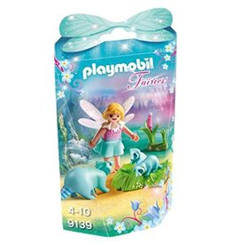 Playmobil Fairy Girl with Raccoons