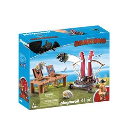 Playmobil Dragons - Gobber the Belch with Sheep Sling