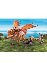 Playmobil Dragons - Fishlegs & Meatlug