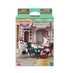 Calico Critters Tea & Treats Set